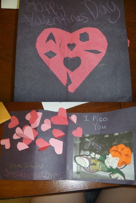 Ng V-day Card Exchange 2012