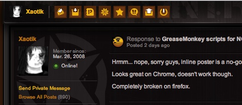 GreaseMonkey scripts for NG