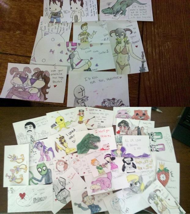 Ng V-day Card Exchange 2012