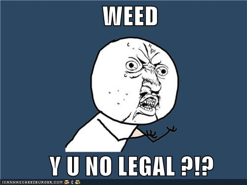 Legalization of Marijuanna in 2012