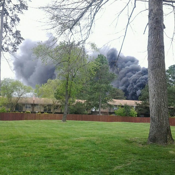 Navy Jet jjust crashed in my hood