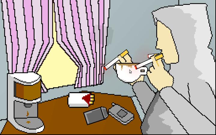 A Procrastination Simulator