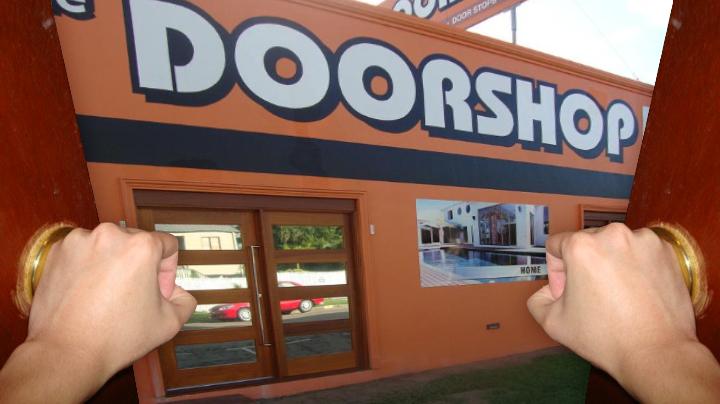 Photoshop the door