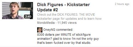 Dick Figures wants...A lot