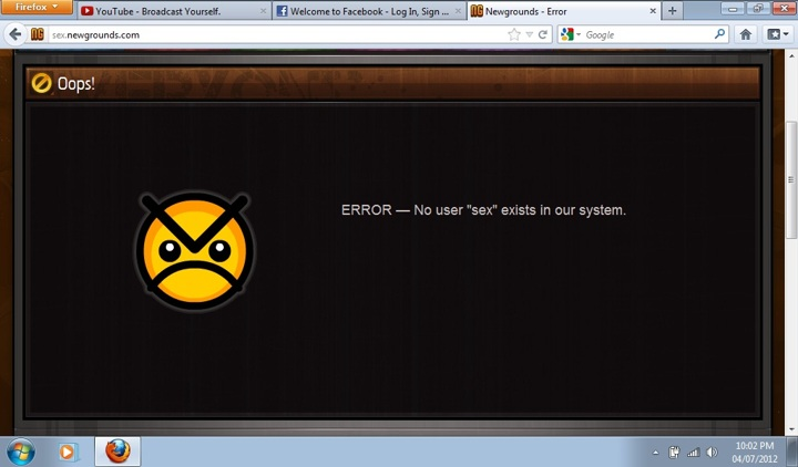 Newgrounds trolls its users