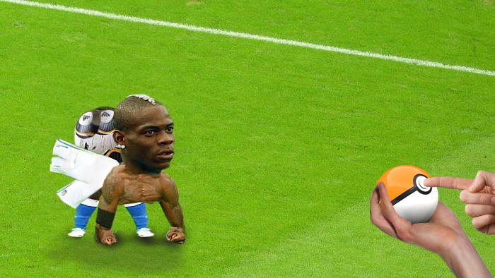 Photoshop Mario Balotelli