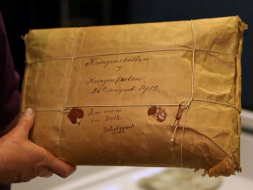 Mysterious 100 year old package..