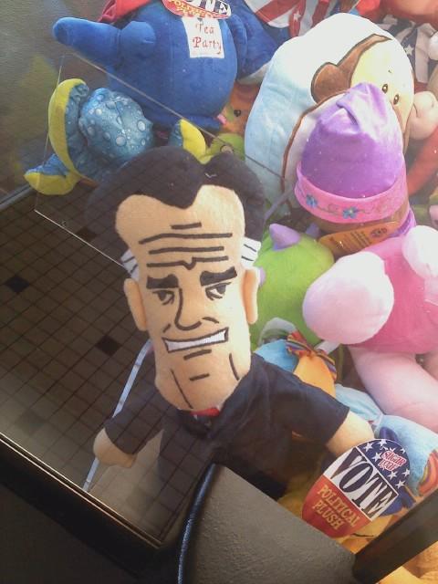 Mitt Romney Plushie