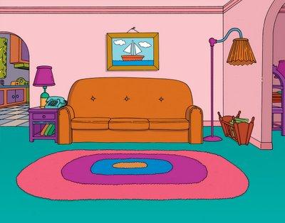 Virginia B Interior Design Set To Life The Simpsons