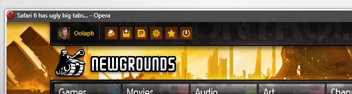Safari 6 has ugly big tabs...