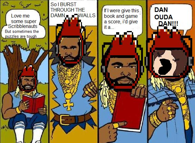 Caption Mr.T comic.