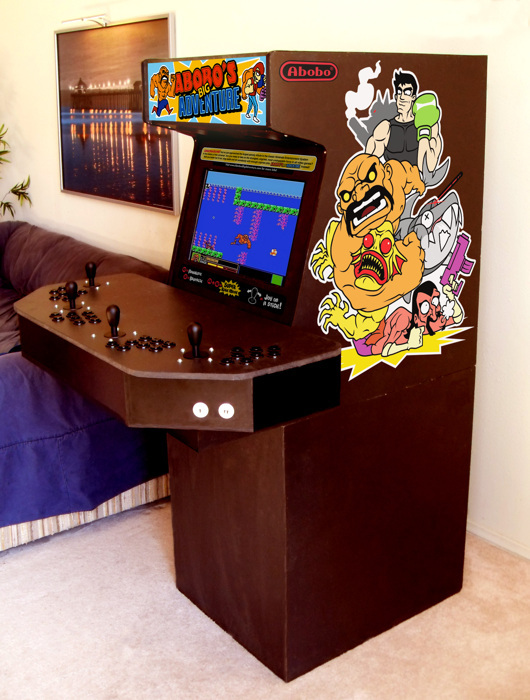 Abobo's Big Adventure Arcade Cab.