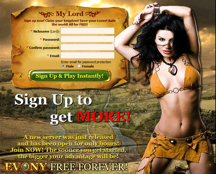Sluttiest Mmo Ads?