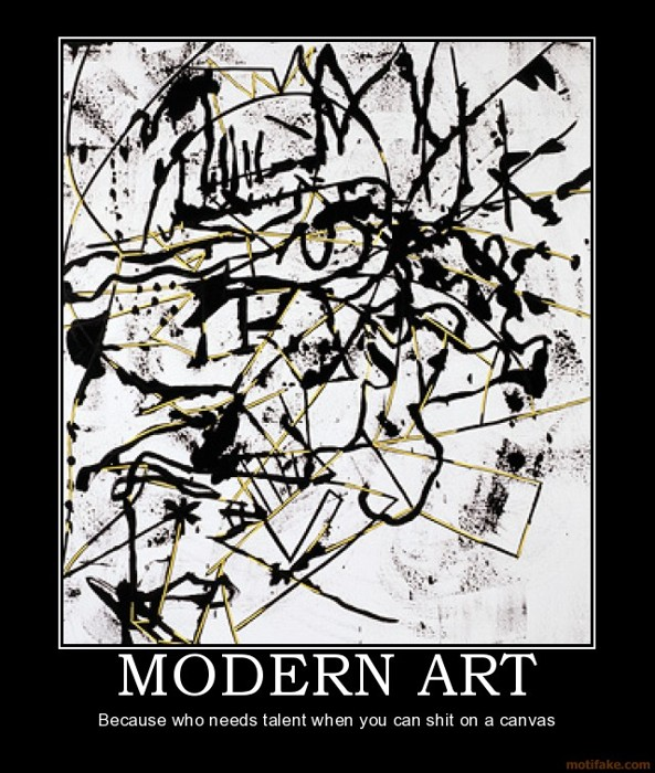 "Crappy ""Modern Art"""