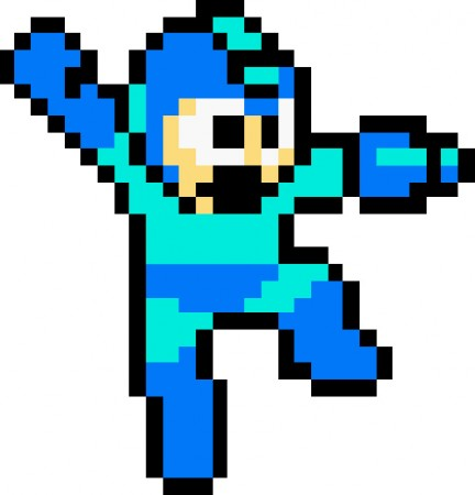 If Mega Man showed up at your door