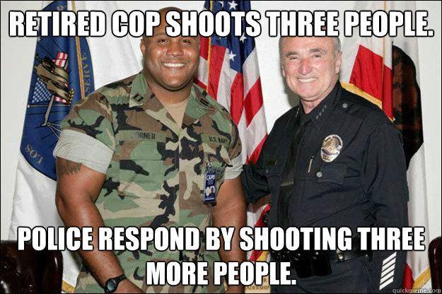 Ex-cop goes on rampage in LA