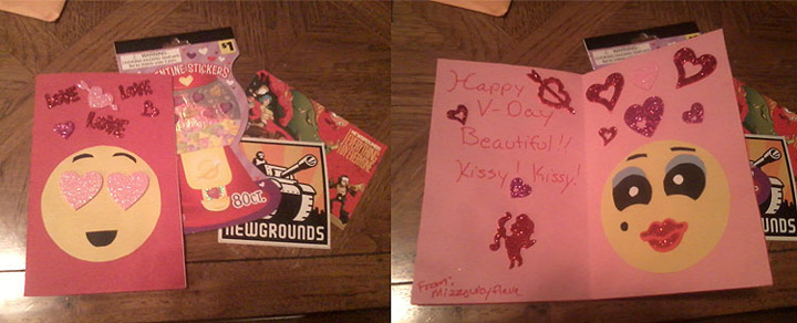 Ng V-day Card Exchange 2013