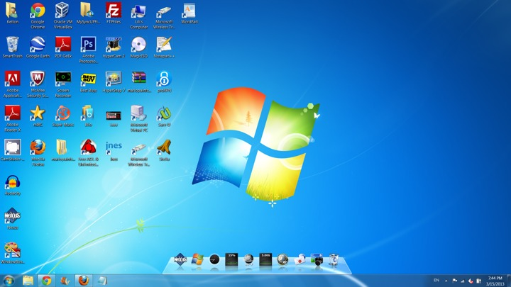 Show NG your desktop!
