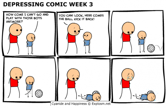 Probably the most depressing comic