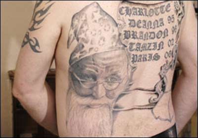 Worst tattoo/tattoos you've seen