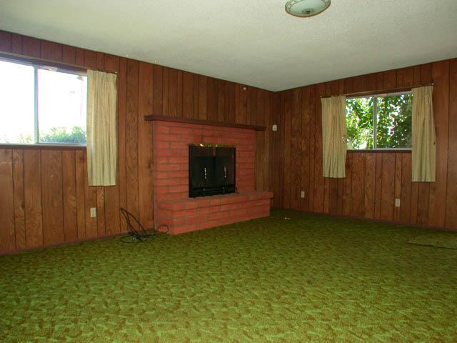 Did anyone else have a green carpet