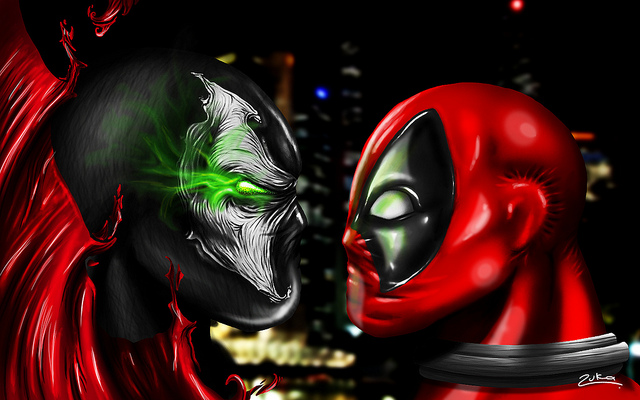 Spawn vs Deadpool