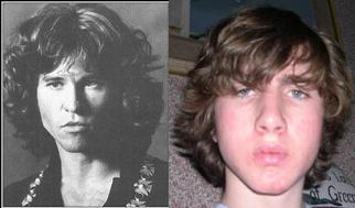 Do i look like Jim Morrison?