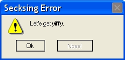 Error Message Generator