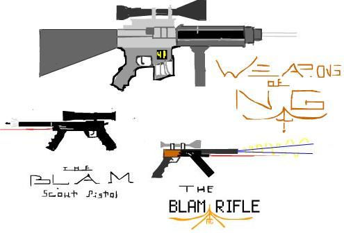 Introducing: The Blam Rifle!!!
