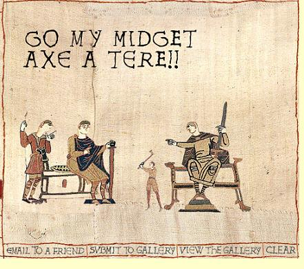 The Bayeux Tapestry Generator!