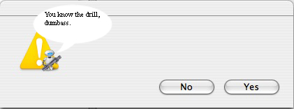 Photoshop a MAC error message!