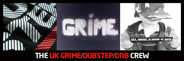 The Grime/dubstep/dnb Crew