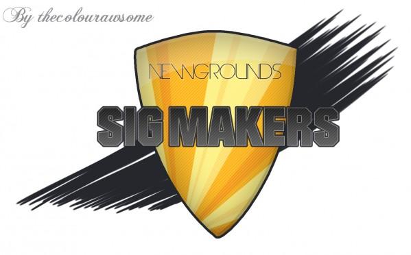 Newgrounds Sig Makers