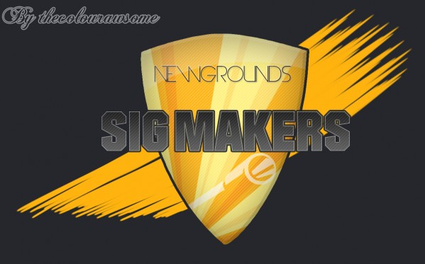 Newgrounds Sig Makers