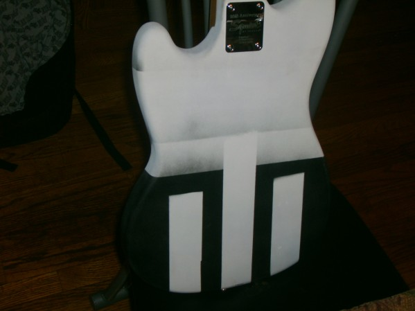 So I'm Painting My Old Bass :)