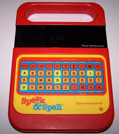 Speak and Spell samples