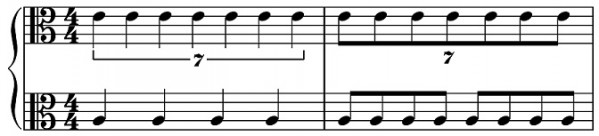 """Irrational"" time signatures?"