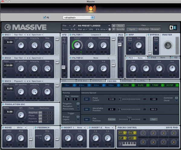 Massive Bass Problem.