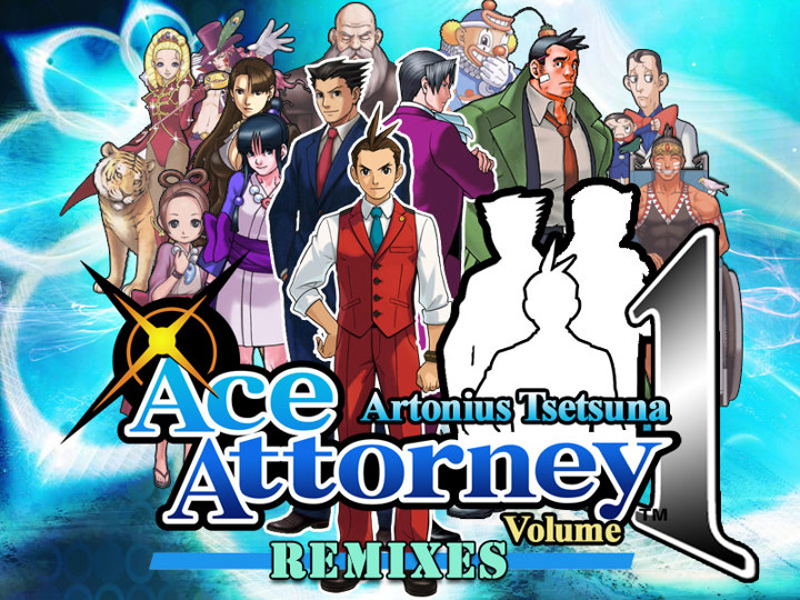 A tribute to Ace Attorney Series