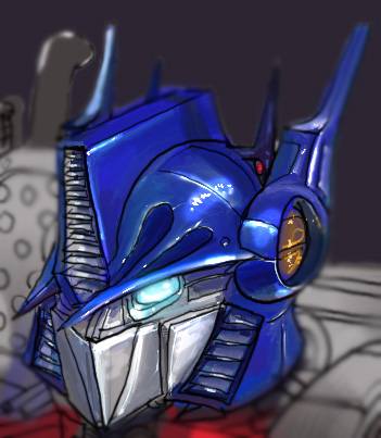Re-imagining of Optimus Prime.