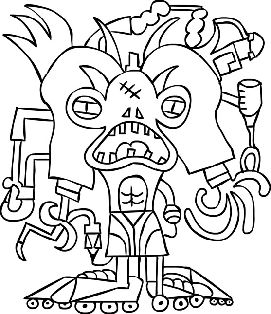 march coloring book pages - photo#24