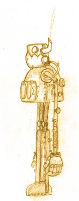Steam powered mech/robots