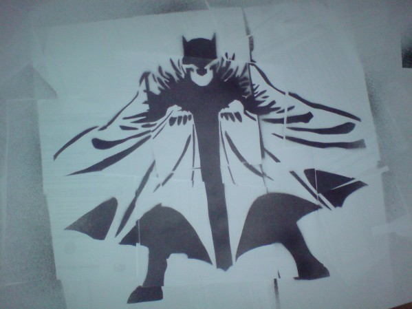 Stencil Art Thread