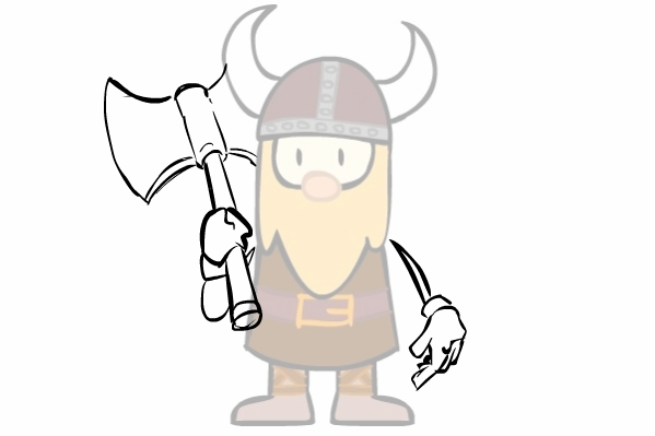 It's a Viking!