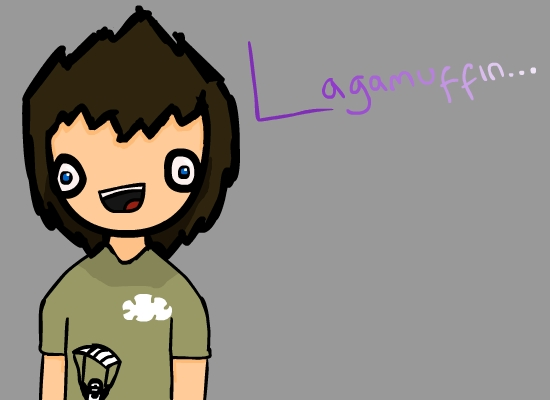 Lagamuffin's dull,boring art.