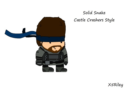 Make your own Castle Crasher