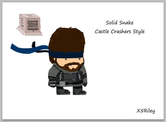 Make your own Castle Crasher