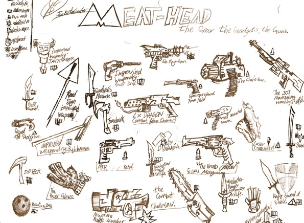 The Meat-heads By Jack