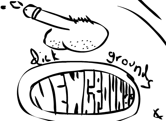 I drew a penis