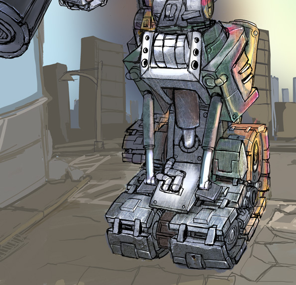 Re-Imagining of Megatron